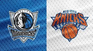 Sr Nba Primetime Preview Dallas Mavericks Vs New York