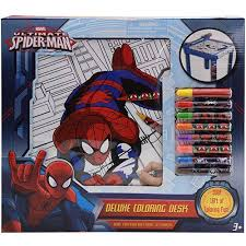 Your key for reading marvel unlimited and digital comic purchases across multiple devices. Spiderman Deluxe Coloring Desk Walmart Com Walmart Com