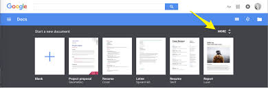 google templates how to create effective document templates