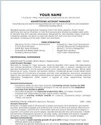Advertising Resume Examples Advertising Sales Resume Sample ...