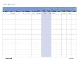 wages register in excel 40 free payroll templates calculators template lab