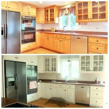 kitchen cabinets refinished awesome before and after kitchen cabinet makeover what a transformation i love the refinished kitchen cabinets refacing home