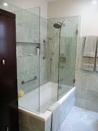 narrow shower tub combination drop in combo