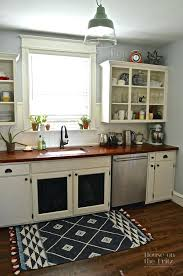 black kitchen rugs fabulous red and