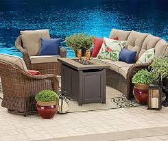 Wilson & Fisher Palermo Patio Furniture with Fire Pit Collection