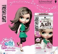 Schwarzkopf Fresh Light Berry Ash Hair