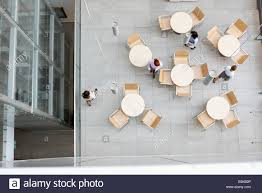 office canteen. Perfect Office High Angle View Of Businesswomen Walking At Office Canteen And Office Canteen