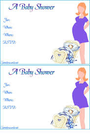 Baby Shower Invitation Acceptance Awesome Free Animated All Occasion