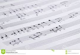Music Writing Paper Handwritten Music Notation Stock Image Image Of Sheet