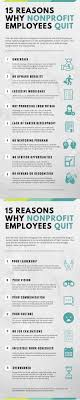 reasons why nonprofit employees quit