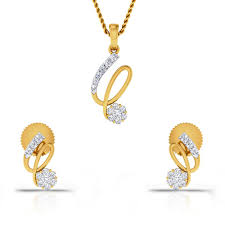 Diamond Gold Locket Designs Tori And Lola Designs Diamond Gold Pendant Set