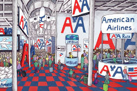 American Efird Color Chart Why An American Airlines Monopoly Works For Charlotte Wsj