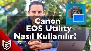 Fotoğraf Makinenizi Bilgisayar'a Kablosuz Bağlayın (EOS Utility)📸💻 - Mert  Gündoğdu - YouTube