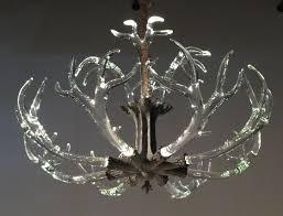 mule deer antler chandelier real antler chandelier antler ceiling lights
