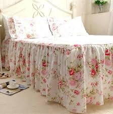 full image for garden dream queen quilt set best garden rose print bedspread cotton bedding princess