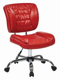 unusual office chairs. office chairs faux leather armless task chair red os st52050c interesting arm 106978 ux w chrome unusual o
