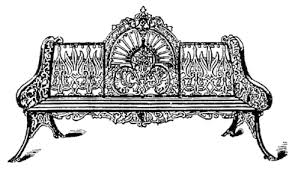 white wrought iron furniture. a variety of 19th century wrought iron benches white furniture i