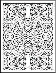 Geometric Patterns Coloring Pages To Color Design Your Own Hard
