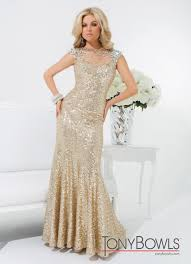 Sequin 2014 Tony Bowls Gown 114539