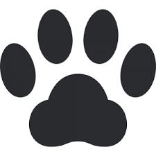 猫の肉球イラスト無料フリー