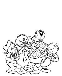 Kwik Kwek En Kwak Kleurplaten Disneykleurplatencom