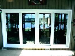 patio door replacement cost change sliding glass door to french door sliding glass door glass replacement