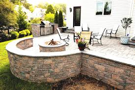 square paver patio with fire pit. Ep Henry Coventry Wall Dakota Blend Fire Pit Kit Stone Center Of Va Silver Square Paver Patio With