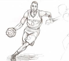 Basketball Drawing Pictures 14 Basketball Drawing Couple For Free Download On Ayoqq Org