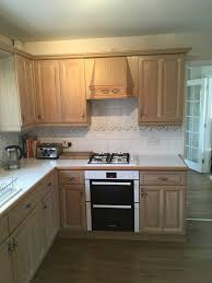Solid Wood Limed Oak Kitchen Units In Worcester For 40000 For Sale