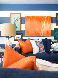 Orange And Blue Living Room Blue Orange Living Room Decor Yes Yes Go