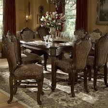 Michael Amini Living Room Furniture Michael Amini Windsor Court 9 Piece Dining Set Reviews Wayfair