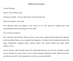 Format Of Official Letter What Is The Official Letter Format In India Wisdomjobs Com