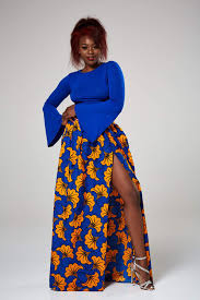 African Print Designs For Plus Size Wear Anakara Plus Size African Print Maxi Skirts