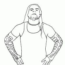 Wwe Jeff Hardy Coloring Pages Coloring Home