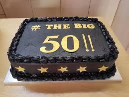 The Big 50 Birthday Cake Picture Of Sponge And Cream London