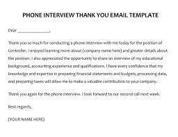 Thank You For Scheduling The Interview 28 Best Phone Interview Thank You Letter Email Samples