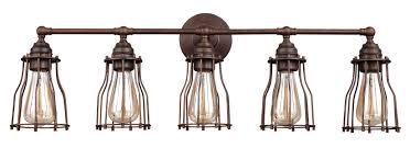 farmhouse vanity lights. Margarida 5-Light Farmhouse Vanity Light Lights T