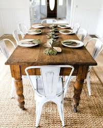 home and furniture gorgeous rustic farmhouse dining table at going with make it work farm style