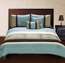 brown and green bedding mint bathroom for blue comforter sets queen decorations 14