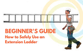 Step Ladder Size Chart Beginners Guide How To Safely Use An Extension Ladder