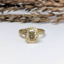 custom todd reed y z color 2 01 carat diamond halo ring