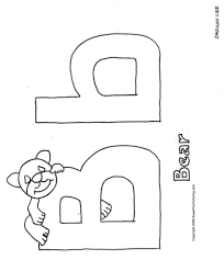 Small Picture Coloring Pages For The Letter D Letter I Coloring Pages Farm