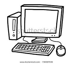 computer clipart black and white. Modren And Computer Clipart Black And White In Computer Clipart Black And White T