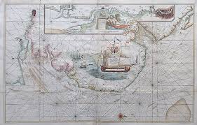 Antique Maps Antique Sea Chart Of The River Thames And The