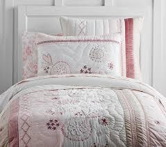 Twin Pink Quilt | Pottery Barn Kids & Nicki Quilt, Twin, Pink Multi Adamdwight.com