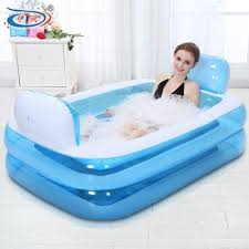 big inflatable bath tub for baby and