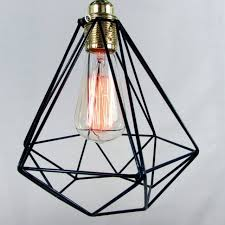 surprising diamond cage pendant light unique39s co notonthehighstreet cage light pendant