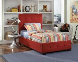 twin upholstered platform bed. Simple Platform Twin Or Full Red Upholstered And Tufted Platform Bed 1 To O