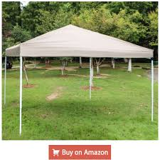 10 x 10 feet outdoor portable pop up canopy part tent sun shade blue