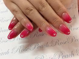 ネイル Private Beauty Salon Rose Peach